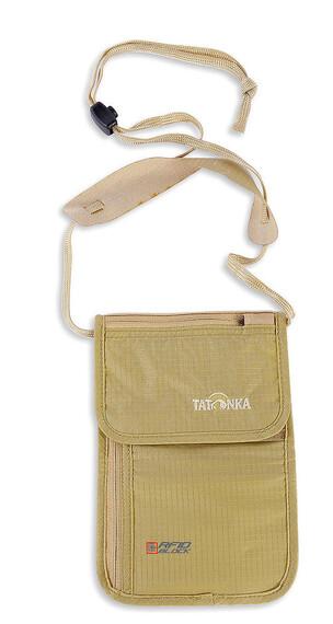 Tatonka Skin Neck Pouch RFID B natural